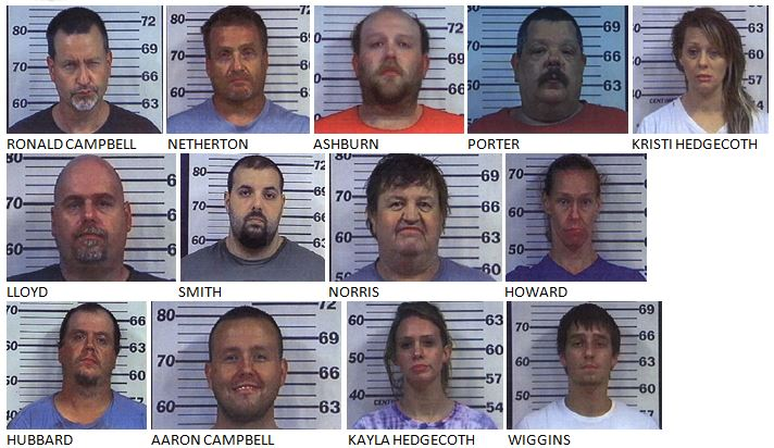 Multi-Agency Drug Case Nets Indictments for 19 People, Including