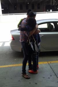Christopher, mom reunited