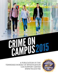 Crime On Campus 2015